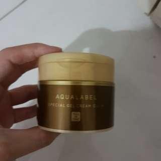 Shiseido aqualabel special cream