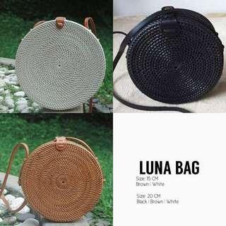Bali Handwoven Rattan Bag