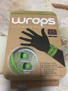 Wrap earphone