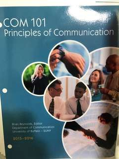 Principles Of Communication by Brian Reynolds (2015 - 2016 Edition)