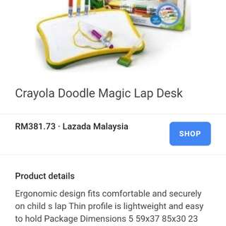 Crayola doodle magic lep desk