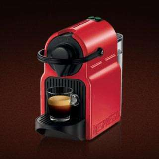 Nespresso INISSIA Espresso Coffee Maker, Red Ruby Coffee Maker Nespresso - NEW