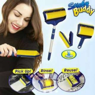 Sticky Buddy Hair Lint Dust Remover
