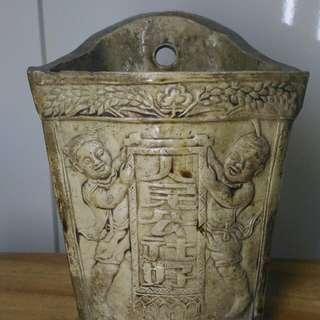 舊文革瓷筷子筒