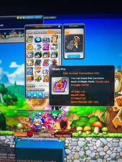 Maplestory Bootes account quitting sale