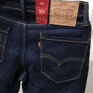 🚚 Levis 專櫃購入 511牛仔長褲 原色 刷破 破壞