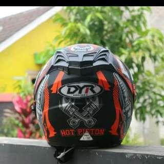 Helmet jpr semi cross
