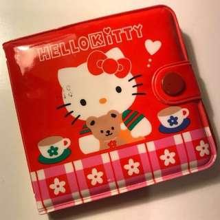 Hello Kitty 1996年絕版膠銀包仔