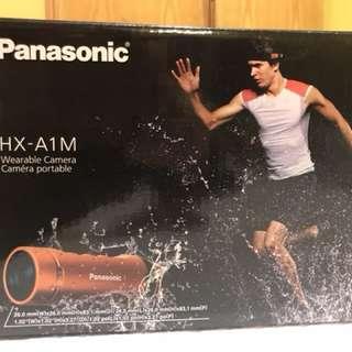 Panasonic HX-A1M action camera 配件齊全