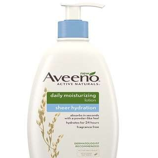 Aveeno Body Lotion - Daily Moisturizing Lotion Sheer Hydration 354mL
