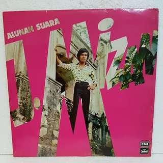 Reserved: Malay》 J. Mizan - Alunan Suara Vinyl Record