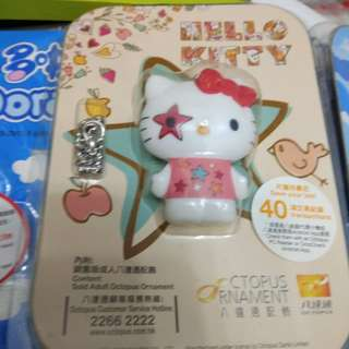 Hello Kitty成人八達通,全新。