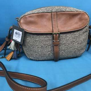 Fossil slingbag authentic preloved