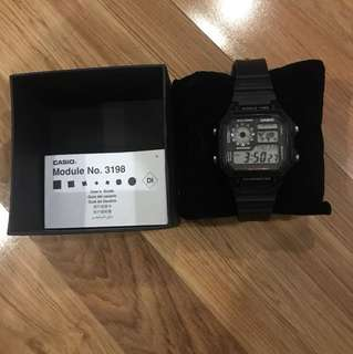 Casio Watch (Black)