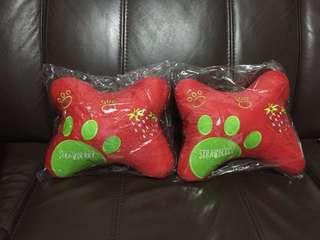 BN Genting Highlands Strawberry Farm Car Seater Cushion