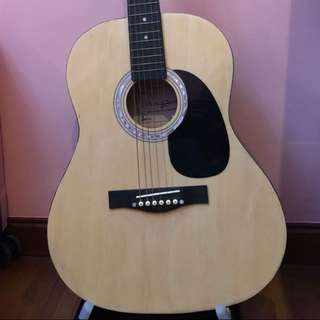 Martin Smith Guitar with Stand and Bag
