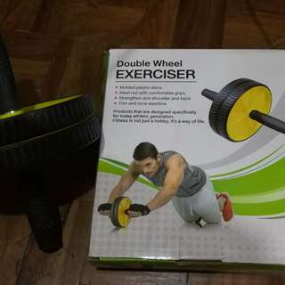 Fitness double roller