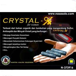 Crystal X for women adult ( READ DESKRIPTION SIST😘😘)