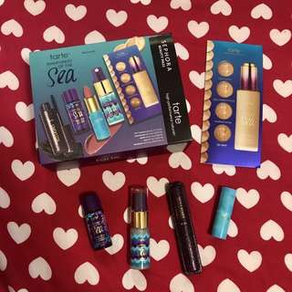 Tarte Rainforest of the Sea Sephora Gold Member Beauty Set