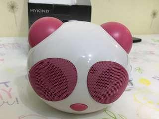 MYKIND 熊貓USB speaker