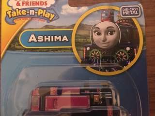 Thomas take n play Ashima magnet die cast湯瑪士合金磁鐵小火車