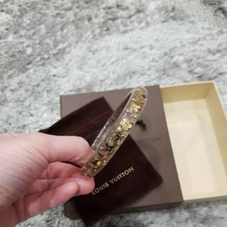 Authentic LV Louis Vuitton Bangle
