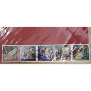 2011 New Zealand Christmas Stamp Stripe (CTO)