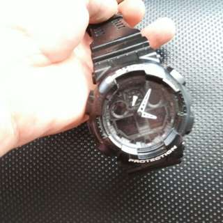 Casio gshock original GA100 full set