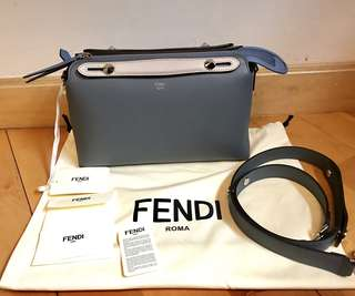 Fendi 拼色 multi-colour Small/medium  By The Way (27cm),  (2018 新色藍色拼色)