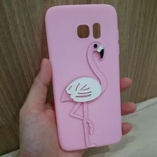 FLAMINGGO SOFT CASE FOR S7 EDGE
