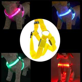 Pet Dog LED Leash Harness