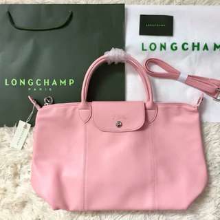 Longchamp leather (porcelain)