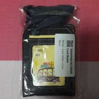 OFFER! Black Leather Cardholder
