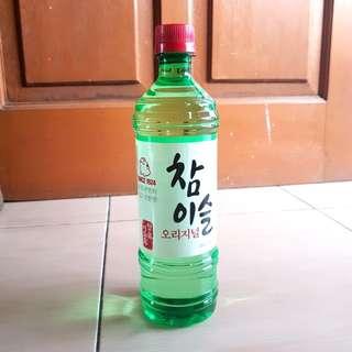 (NEW) MINUMAN ALKOHOL SOJU 100% ORIGINAL KOREA. HARGA NETT YA :)