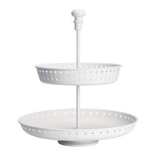 [IKEA] GARNERA Serving Stand / Two tiers / White