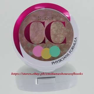 1PC. SUPER CC COLOR-CORRECTION+CARE COMPACT POWDER MAKEUP COSMETICS 8.5g #LIGHT/MEDIUM