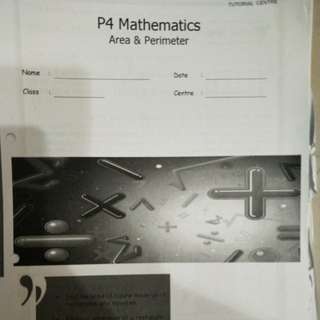 Mavis Math Primary 4