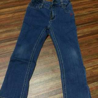 Girl Jeans poney