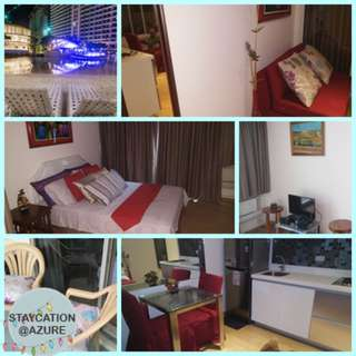 Azure 1 br fully furnished beachview unit for rent