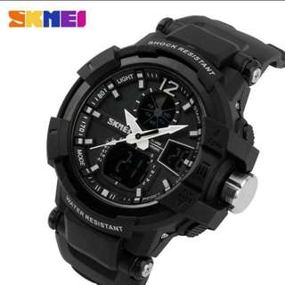 Jam Tangan SKMEI military LED Watch