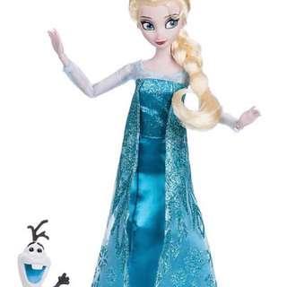 Frozen Elsa Barbie Doll
