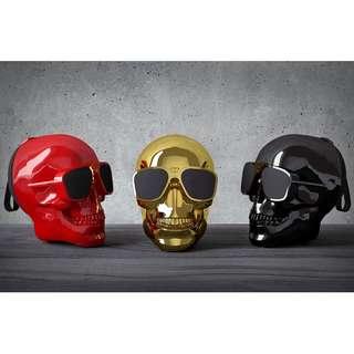 Wireless Bluetooth Skull speaker