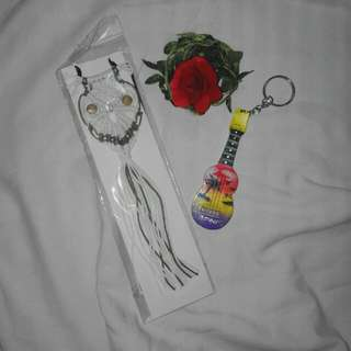 Owl Necklace and Cebu keychain