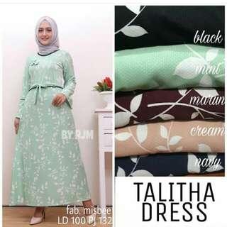 PAKAIAN WANITA GD. TALITHA DRESS