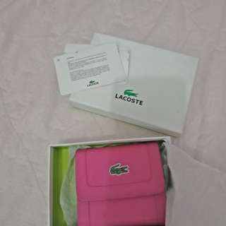 Auth Lacoste wallet