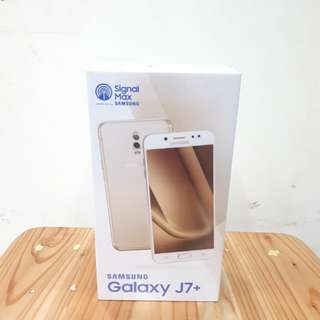 Samsung J7+ Kredit Free Paket Data IM3