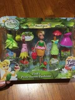 Disney tinkerbell pixie sweets fashion figurine & dress up