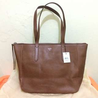 Fossil shopper brown