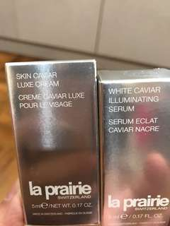 La Prairie samples