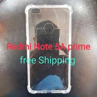 Redmi Note 5A prime anti Shock Transparent Case